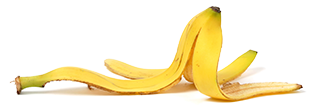 Photo of banana peal